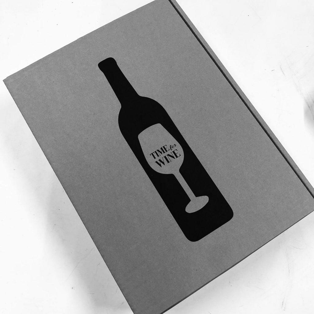 Geschenkbox Wein