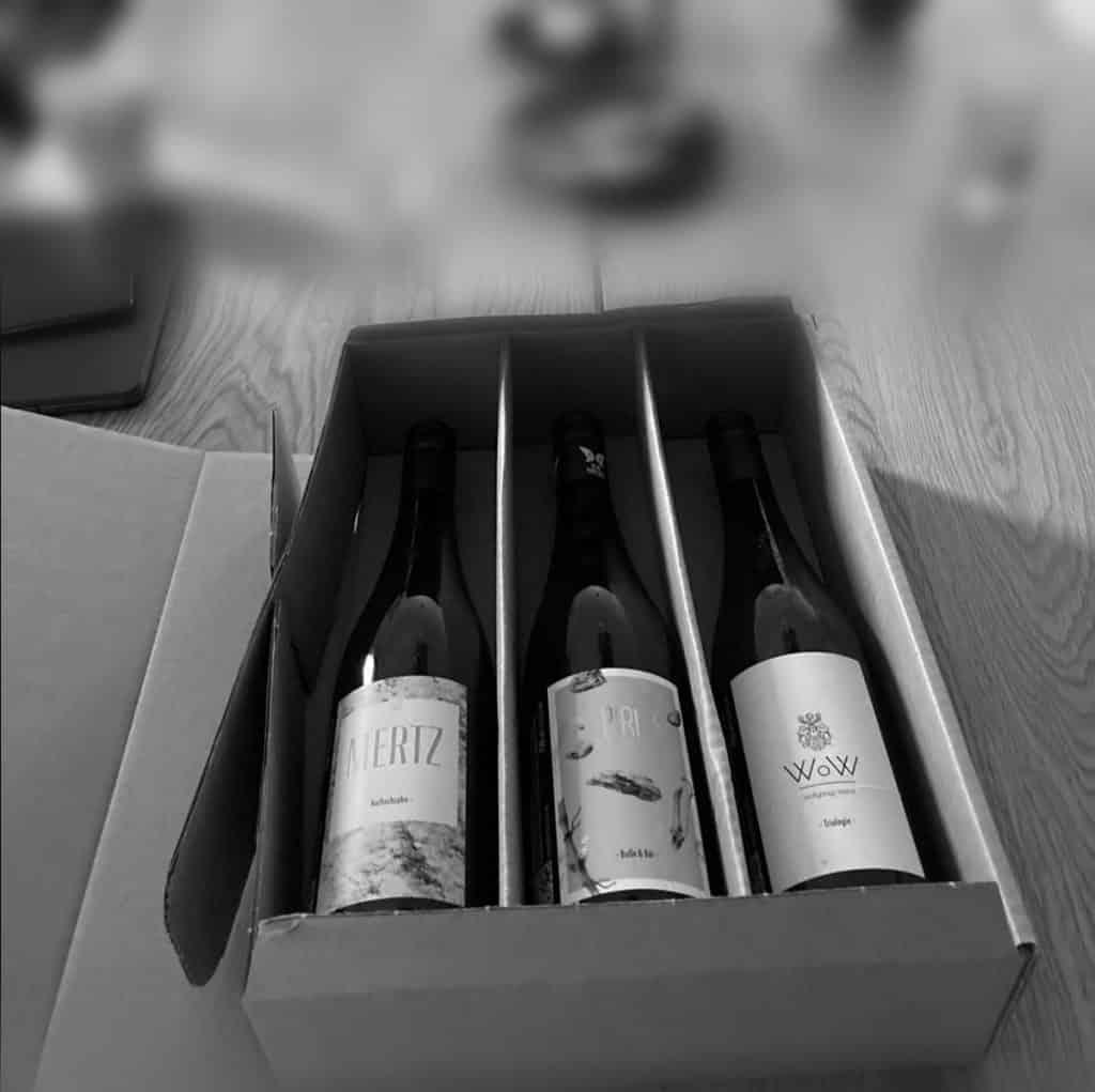 Geschenkverpackung Wein
