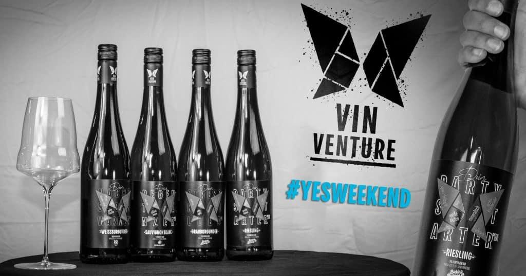 YES WEEK END Wein mit Anlass Wein mit lustigen Namen